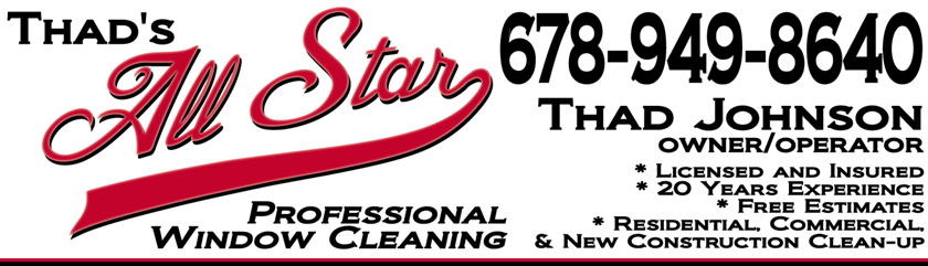 Thad's All Star Professional Window Cleaning Service